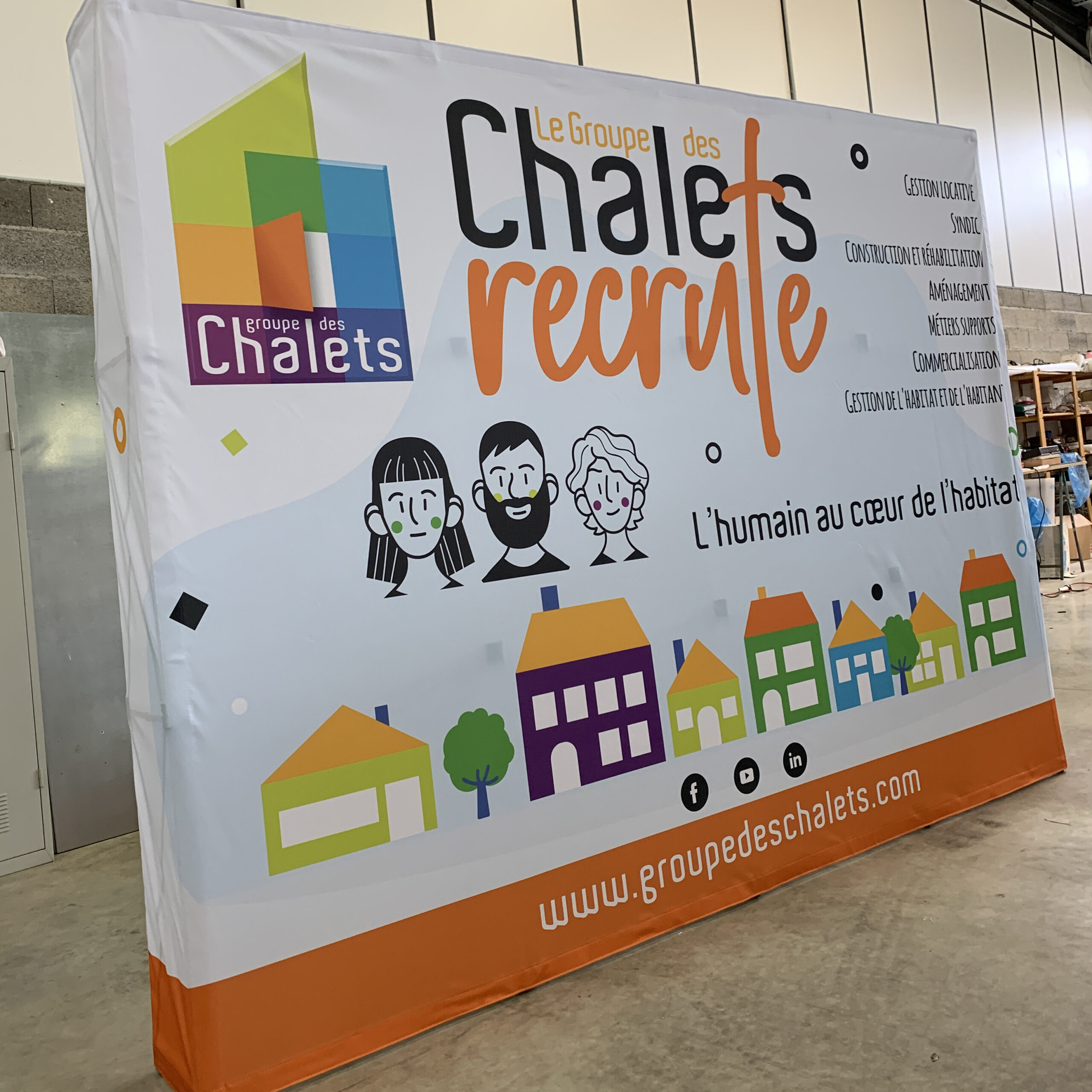 event stand toulouse