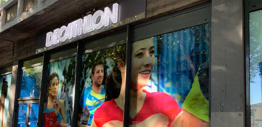 decathlon vitrine toulouse